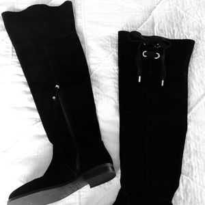Kate Spade Rebecca Over the Knee Suede Boots